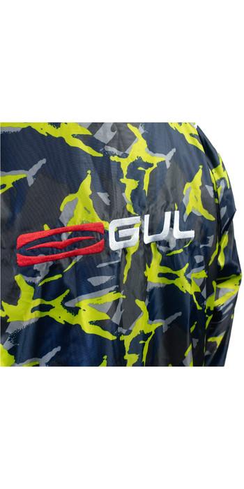 2021 GUL Junior Evorobe Change Robe / Poncho AC0128-B6 - Black / Camo