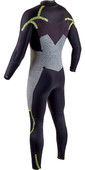 2020 GUL Mens 5/4mm Response FX Chest Zip Wetsuit RE1242-B8 - Black / Camo