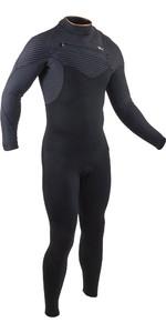 2020 GUL Mens 5/4mm Viper Pro Chest Zip Wetsuit VR1242-B8 - Black