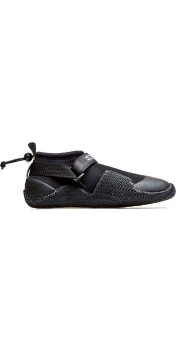 2021 GUL Strapped Power Slipper 3mm Wetsuit Shoe BO1265-B7 - Black