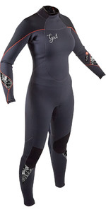 2020 GUL Womens Response 5/3mm Back Zip Wetsuit RE1229-B8 - Jet / Black