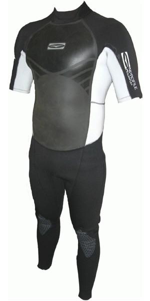 GUL Profile 3/2mm S / S  Wetsuit GBS Sealed Seam in Silver / Black pr2202, LAST 1