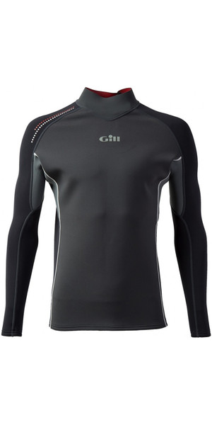 2019 Gill Speedskin 1.5mm Neoprene Top GRAPHITE / ASH 4619