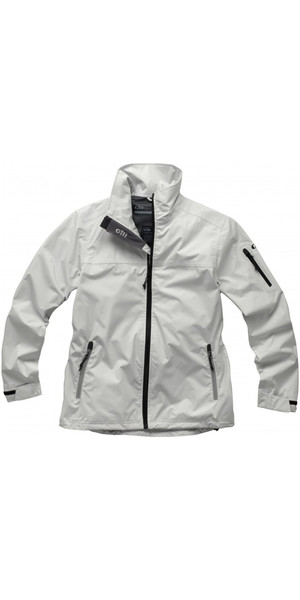 2018 Gill Womens Crew Lite Jacket SILVER 1042W