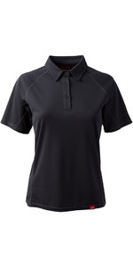 Gill Womens UV Tec Polo Top CHARCOAL UV002W