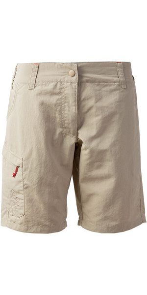 2018 Gill Womens UV Tec Shorts KHAKI UV005W