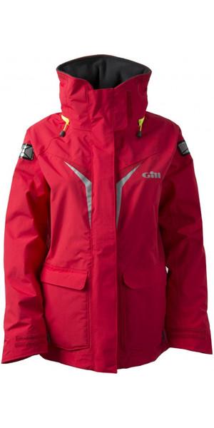 2018 Gill Junior Coastal OS3 Jacket RED OS31JJ