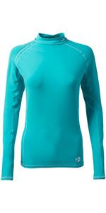 2019 Gill Womens Pro Long Sleeve Rash Vest AQUA 4430W