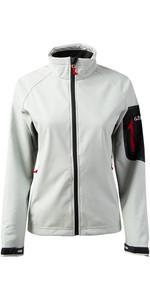 2019 Gill Womens Team Softshell Jacket SILVER 1613W
