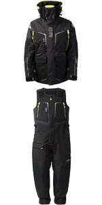 2019 Gill Mens OS1 Offshore Ocean Jacket OS12J & Trouser OS12T Combi Set in Graphite