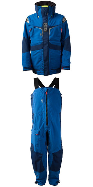 2018 Gill Mens OS2 Jacket OS23J & Trouser OS23T Combi Set Blue
