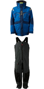 2018 Gill Mens OS2 Jacket OS23J & Trouser OS23T Combi Set Blue / Graphite