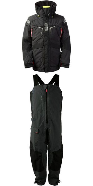 2018 Gill Mens OS2 Jacket OS23J & Trouser OS23T Combi Set Graphite
