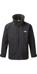 2020 Gill Mens OS3 Coastal Jacket OS32J - Graphite