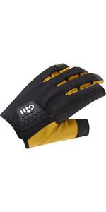 2021 Gill Mens Pro Long Finger Sailing Gloves 7453 - Black