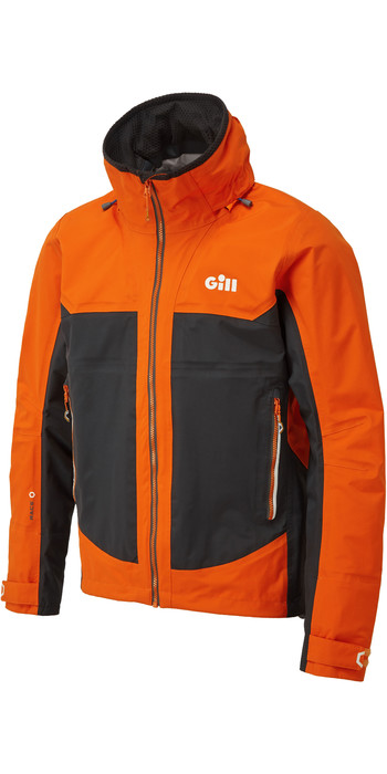 2021 Gill Mens Race Fusion Jacket Tango RS23