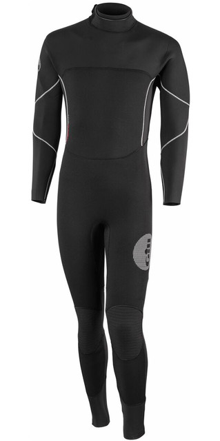 2018 Gill Thermoskin 5/3mm Gbs Dinghy Wetsuit In Black 4609 Picture