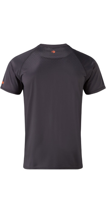 2021 Gill Mens UV Tec Fade Print Tee Charcoal UV015