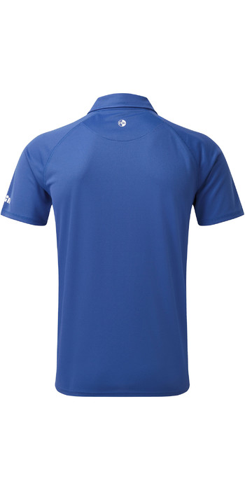 2019 Gill Mens UV Tec Polo Top Blue UV008