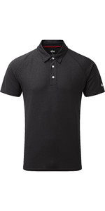 2021 Gill Mens UV Tec Polo Top Charcoal UV008