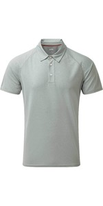 2020 Gill Mens UV Tec Polo Top Grey UV008