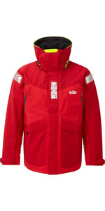 2019 Gill OS2 Mens Offshore Jacket Red OS24J