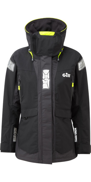 2019 Gill OS2 Womens Offshore Jacket Black OS24JW