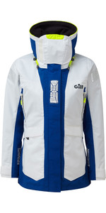 2021 Gill OS2 Womens Offshore Jacket White OS24JW