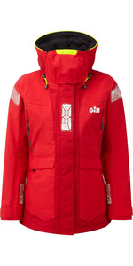 2021 Gill OS2 Womens Offshore Jacket Red OS24JW