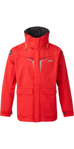 2021 Gill OS3 Mens Coastal Jacket BRIGHT RED OS31J
