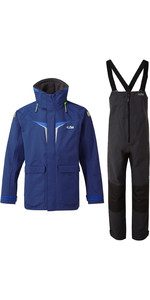 2020 Gill OS3 Mens Coastal Jacket & Trouser Combi Set - Dark Blue / Graphite