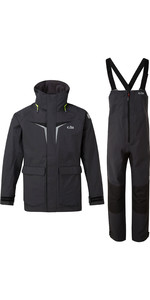 2020 Gill OS3 Mens Coastal Jacket & Trouser Combi Set - Graphite