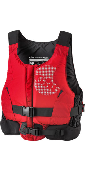 2018 Gill Pro Racer Front Zip Buoyancy Aid Red - 4917