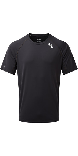 2019 Gill Mens Race Short Sleeve T-Shirt Graphite RS06