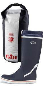 2019 Gill Tall Yachting Boots & 50L Dry Bag Package Deal