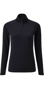 2020 Gill Women Womens UV Tec Long Sleeve Zip Tee UV009W - Navy