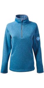 Gill Womens Knit Fleece in Blue Melange 1491W
