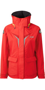 2021 Gill Womens OS3 Coastal Jacket BRIGHT RED OS31JW
