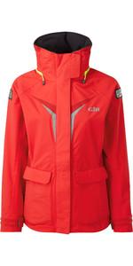 2020 Gill Womens OS3 Coastal Jacket BRIGHT RED OS31JW