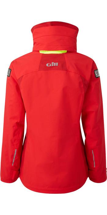 2021 Gill Womens OS3 Coastal Jacket BRIGHT RED OS31JW