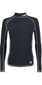 2019 Gill Womens Pro Long Sleeve Rash Vest Black 4430W