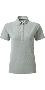 2020 Gill Womens UV Tec Polo Top Grey UV008W