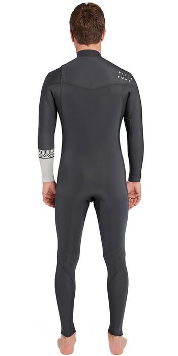 Billabong Furnace Revolution 3/2mm Chest Zip Wetsuit Graphite L43M06