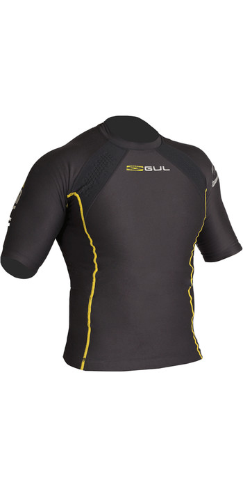 2020 Gul Evotherm Thermal Short Sleeve Top BLACK EV0051-B3