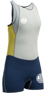Gul Womens Surflite 3mm Flatlock Short Jane INK BLUE SL5301-A7
