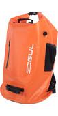 2021 Gul 100L Heavyduty Dry Bag Lu0122-B9 - Orange / Black