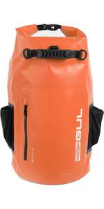2021 Gul 40L Heavy Duty Dry Backpack Lu0120-B9 - Black / Orange