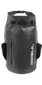 2021 Gul 40L Heavy Duty Dry Backpack Lu0120-B9 - Black