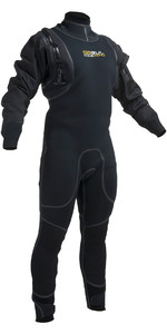 2019 Gul Code Zero 4mm Hybrid Neo Semi DrySuit Black GM0377-B1