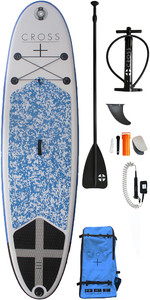 2019 Gul Cross 9'8 Inflatable SUP Board Package CB0029